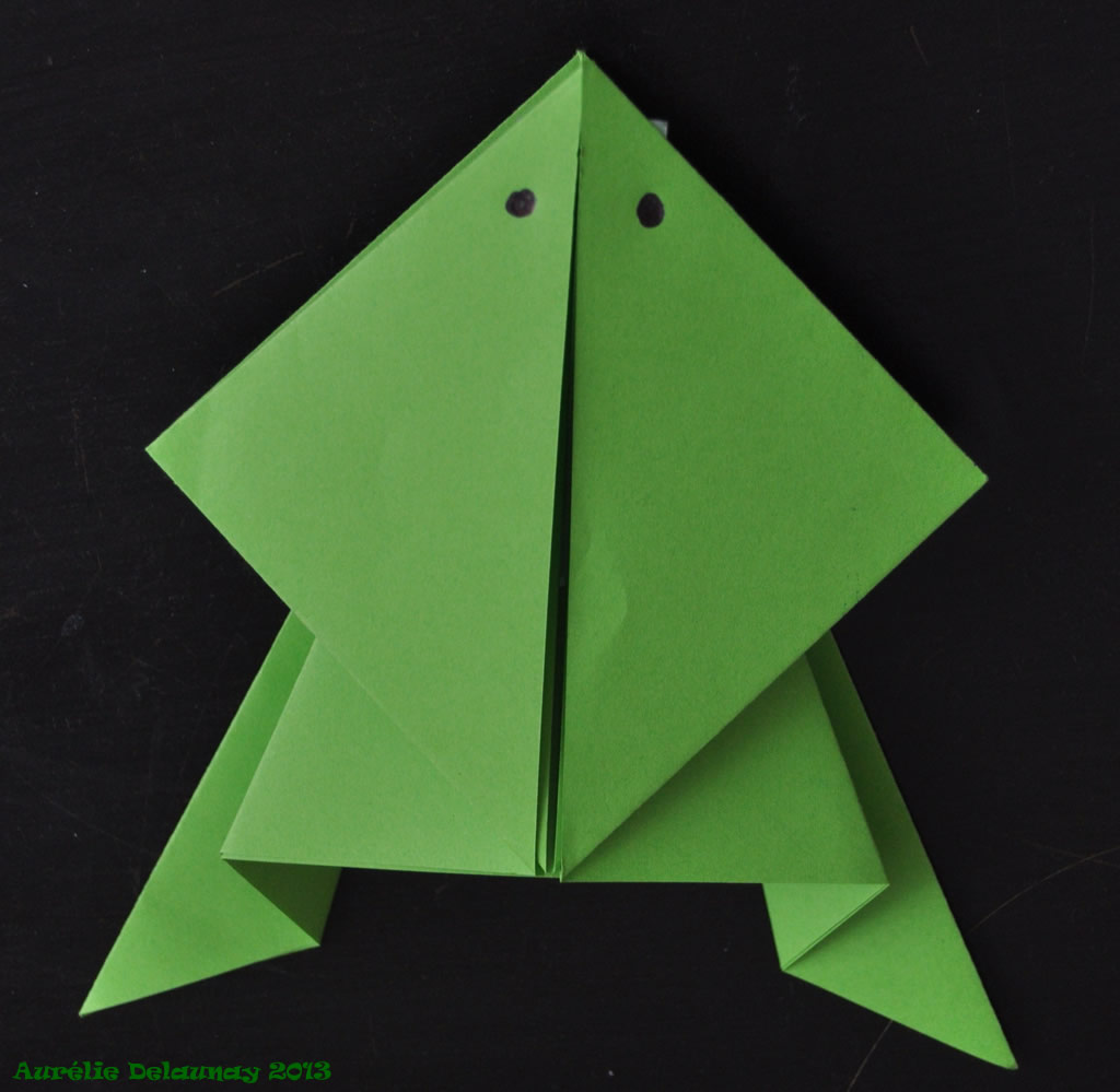 Amazing faire grenouille en papier 10 awesome faire du bricolage facile 14 - Faire grenouille en papier ...