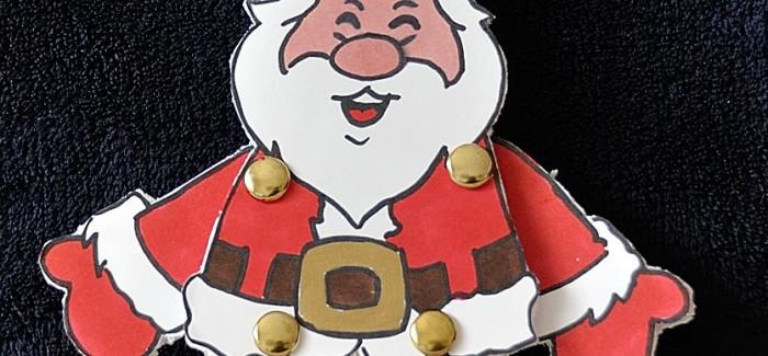 Pantin à ficelle – Père Noël