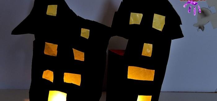 Maisons hantées – Lanternes d'Halloween