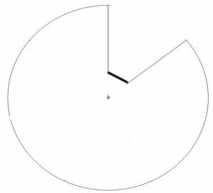 Calendrier perpetuel - roue de la semaine blanche