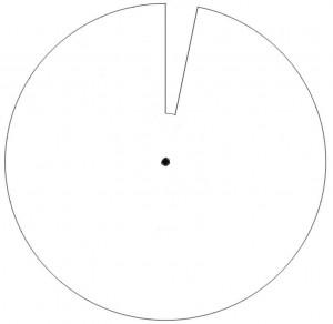 Calendrier perpetuel - roue des jours blanche