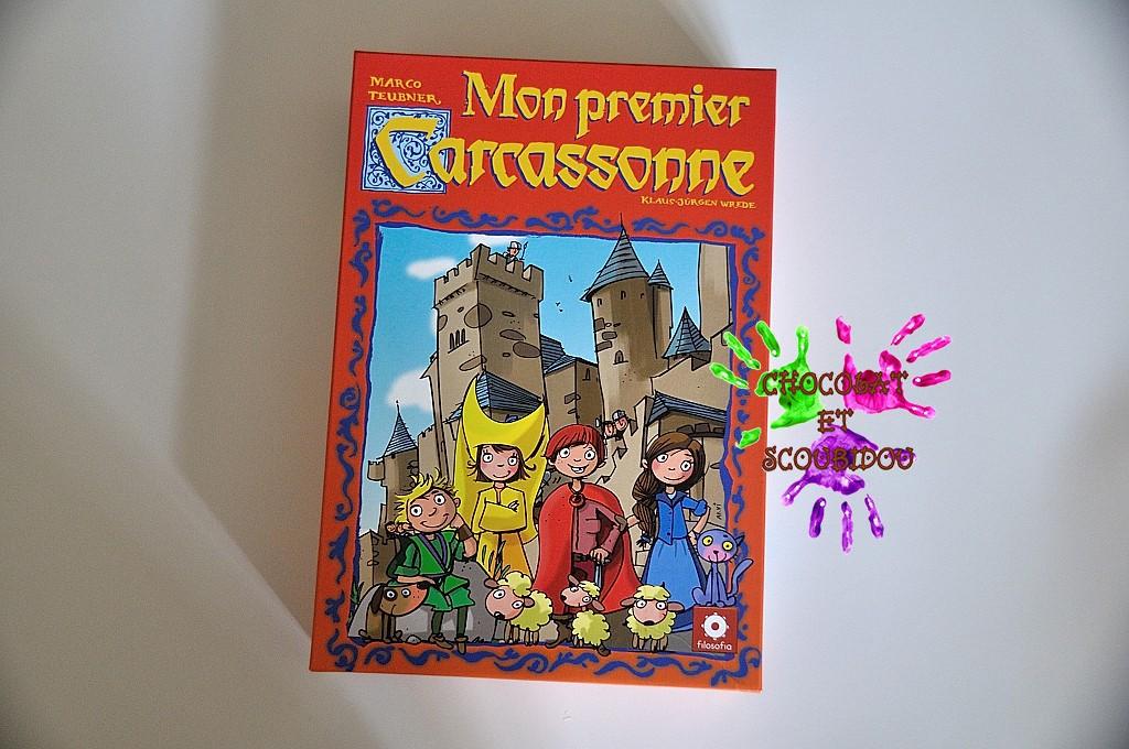 Mon premier Carcassonne - boîte de jeu