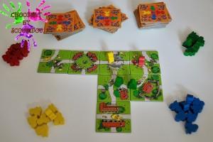 Mon premier Carcassonne - jeu