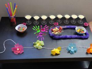 Fête d'anniversaire Tahiti - table