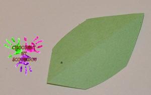 Citrouille en papier - étape 5