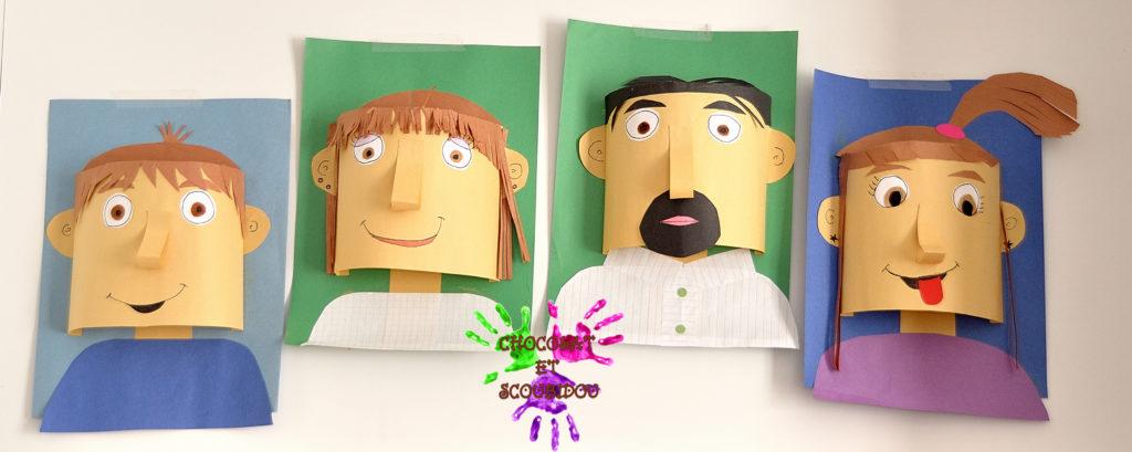 Visages 3D - Portrait de famille