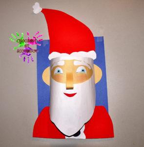 Visage 3D - Père Noël