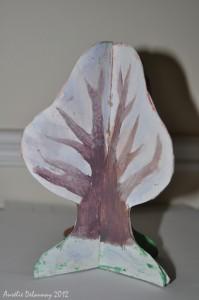 arbre saisons - hiver