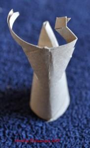 Renne en rouleau de papier toilette - Etape 4