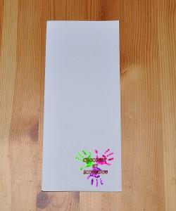 Boîte en papier Caillotte - étape 1