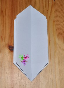 Boîte en papier Caillotte - étape 10