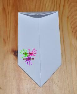 Boîte en papier Caillotte - étape 11
