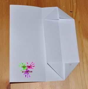 Boîte en papier Caillotte - étape 5