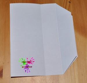 Boîte en papier Caillotte - étape 6