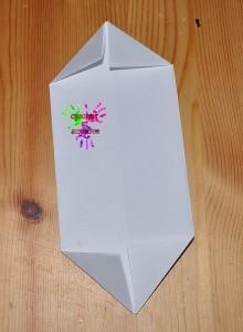 Boîte en papier Caillotte - étape 9