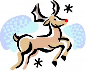 Le petit renne au nez rouge
