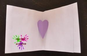 Collection de bisous - carte pop up