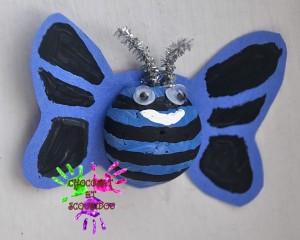 Drôles de petites bêtes - papillon