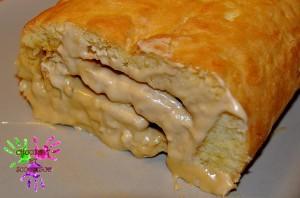 Roulé à la crème au beurre à l'érable