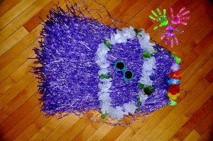 Fête d'anniversaire Tahiti - costume