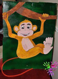 Fête d'anniversaire Tahiti - queue du singe